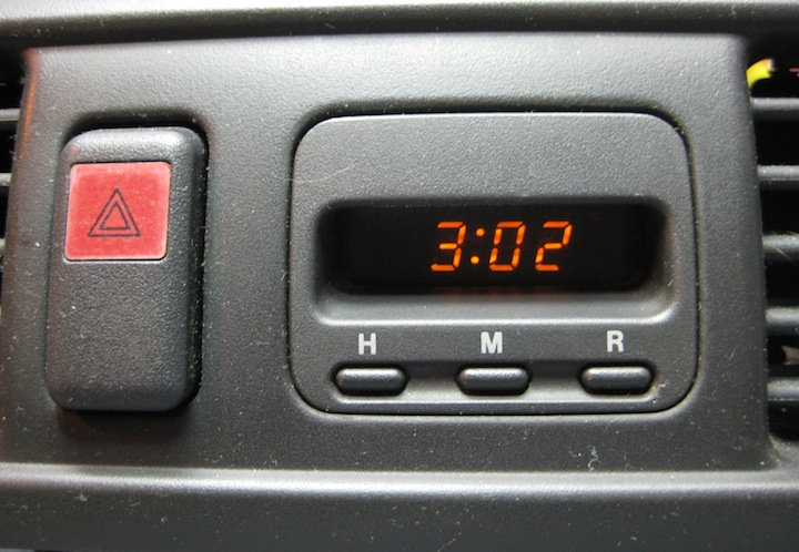 Honda CRV clock fixed, repaired by autoclockrepair