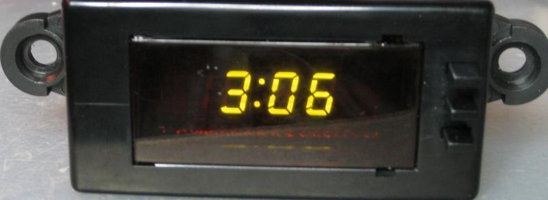 Kia Clock repair
